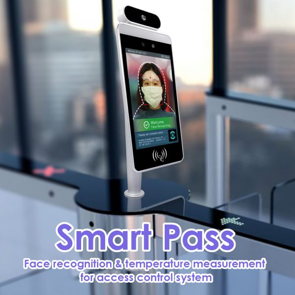 Smart Pass – Temperature measurement & face recognition