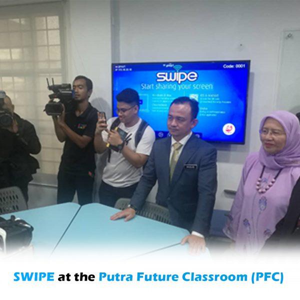 SWIPE at the Putra Future Classroom